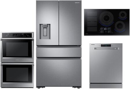 Samsung  1011315 Kitchen Appliance Package Stainless Steel, main image