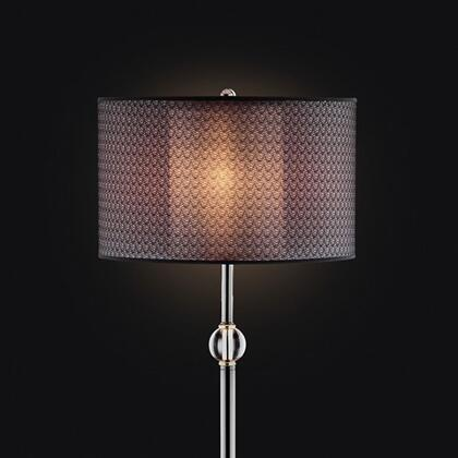 Benzara Magda BM122884 Floor Lamp Black, BM122884