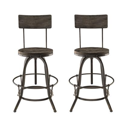 Modway Procure EEI1605BLKSET Bar Stool Black, Bar Stools