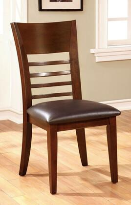 Furniture of America Hillsview I CM3916SC2PK Dining Room Chair Brown, Main Image