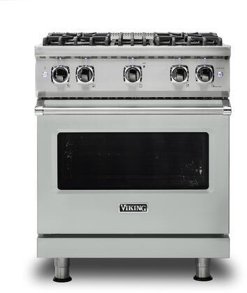Viking 5 Series VGR5304BAG Freestanding Gas Range Gray, VGR5304BAG Gas Range
