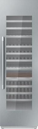 Thermador Freedom T24IW901SP Wine Cooler 76 Bottles and Above Panel Ready, T24IW901SP 24-Inch Built-in Wine Preservation Column
