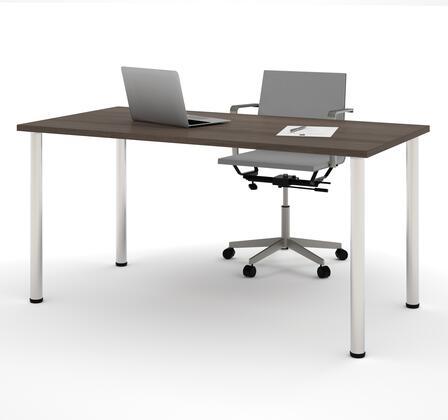 Bestar Furniture Bestar 6586252 Office Desk Brown, Main View