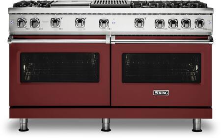 Viking 5 Series VGR5606GQRE Freestanding Gas Range Red, VGR5606GQRE Gas Range
