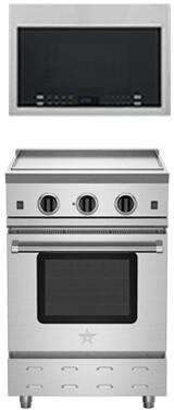 BlueStar RNB Series 851071 Kitchen Appliance Package Stainless Steel, 9