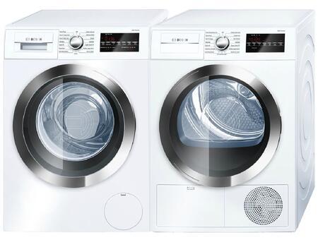 Bosch 800 Series 538896 Washer & Dryer Set White, 1