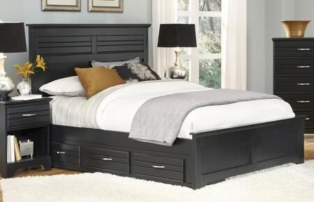 Carolina Furniture Platinum 5078503509500508350 Bed Black, Main Image