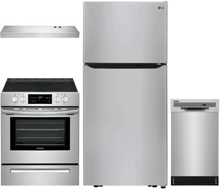 Appliances Connection Picks  1435198 Kitchen Appliance Package Stainless Steel, Main image