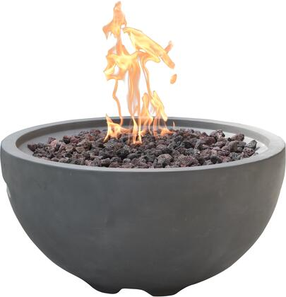 Modeno OFG116LP Outdoor Fire Pit Gray, Main Image