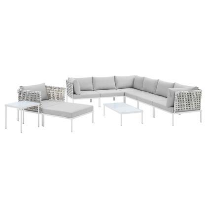 Modway Harmony EEI4950TAUGRYSET Sectional Sofa Blue, EEI 4950 TAU GRY SET 1