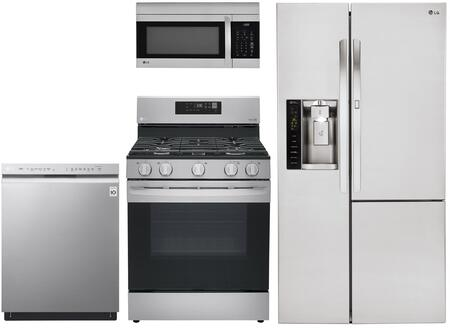 LG  1135231 Kitchen Appliance Package Stainless Steel, Main Image