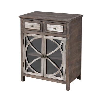 17186 Eyrie Cabinet  in Antique Dark Grey  Antique German
