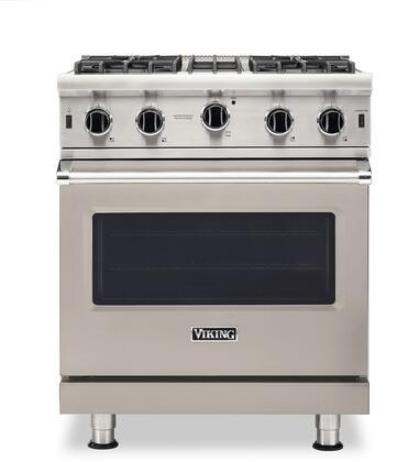 Viking 5 Series VGIC53024BPGLP Freestanding Gas Range Gray, VGIC53024BPGLP Gas Range