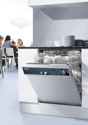 Miele Professional G7856208V Commercial Undercounter Dishwasher Stainless Steel, Main Image