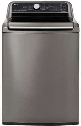 LG  WT7800CV Washer Graphite Steel, WT7800CV Top Load Washer