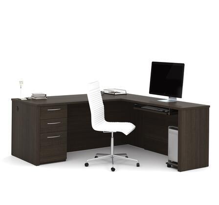 Bestar Furniture Embassy 6089279 Office Desk Brown, Main Image