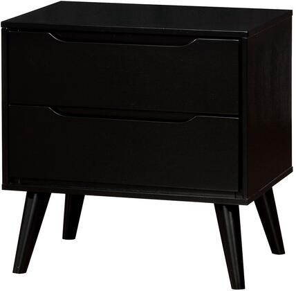 Furniture of America Lennart II CM7386BKN Nightstand Black, 1