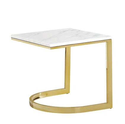 Meridian London 217E End Table Gold, Main Image