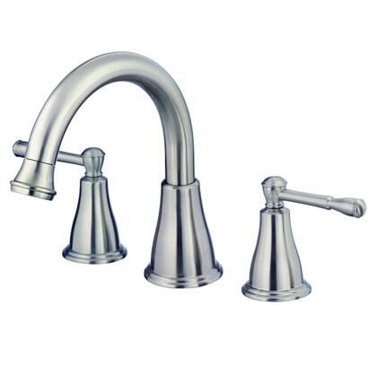 Eastham D300915BNT Deck Mount Three Piece Roman Tub Filler  in Brushed
