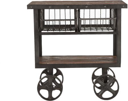 World Interiors Paxton ZWPX36180 Kitchen Cart, ZWPX36180 Front
