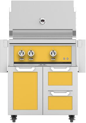 Hestan  852429 Natural Gas Grill Yellow, Main Image