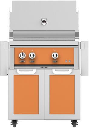 Hestan  852416 Natural Gas Grill Orange, Main Image