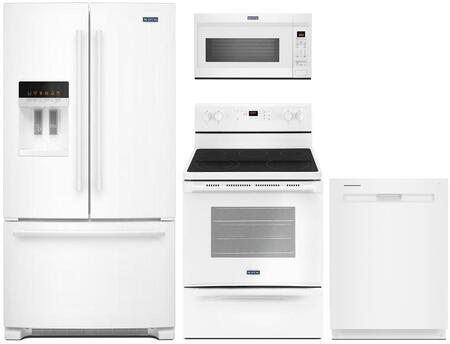 Maytag 800061 Kitchen Appliance Package & Bundle White, Main Image
