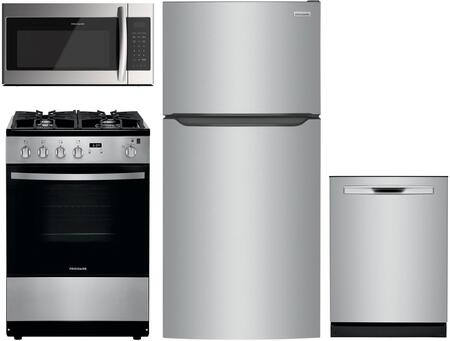 Frigidaire  1308054 Kitchen Appliance Package Stainless Steel, Main image