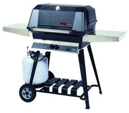 27″ Freestanding Liquid Propane Grill Head with Aluminum Cart   642 sq. inches Total Cooking Area  1 Dual Burner  40000 BTU  Electronic Ignition