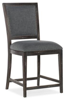 Hooker Furniture Beaumont 57517535189 Bar Stool Gray, Silo Image