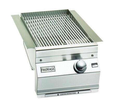 Fire Magic 3287L1P Side Burner Stainless Steel, Single Searing Station for Aurora Grills