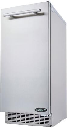 KOU-70-AB 15″ Outdoor Ice Maker with 66 lbs. Daily Ice Production  26 lbs. Ice Storage and Urethane Insulation in Stainless