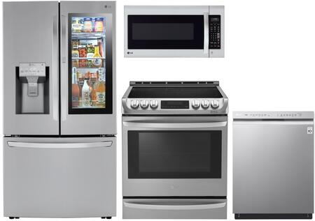 LG 1135148 Kitchen Appliance Package & Bundle Stainless Steel, main image