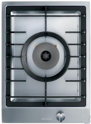 Miele CombiSet CS1028LP Gas Cooktop Stainless Steel, Miele CS1028LP 15 inch Cooktop  Stainless Steel Top view