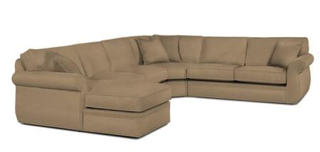 8175 83 4pc Sectional Sofa