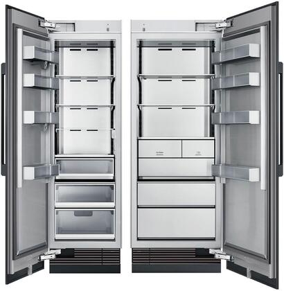 Dacor Modernist 872741 Column Refrigerator & Freezer Set Panel Ready, Custom Panels and Handles not Included