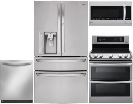 LG 653244 Kitchen Appliance Package & Bundle Stainless Steel, 1