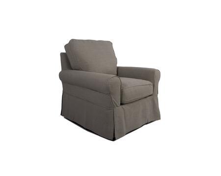 Sunset Trading Horizon SU114993220591 Living Room Chair Gray, SU 114993 220591