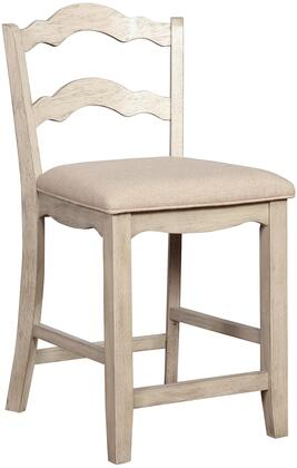 Linon May Series S00GRY01U Bar Stool, 1