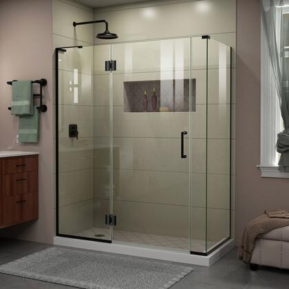 DreamLine  E3290634R09 Shower Enclosure , Unidoor X Shower Enclosure 24HP 30D 6IP 30RP 09