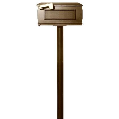 HPST1-000-LM-BRZ The Hanford SINGLE Lewiston mailbox post