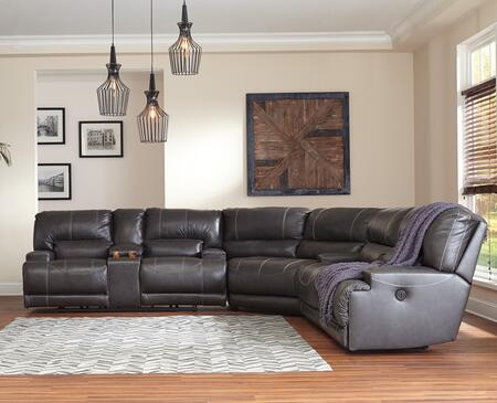 Signature Design by Ashley McCaskill U60900967147 Sectional Sofa Gray, Main Image