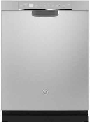 GDF645SSNSS 24″ Energy Star Qualified Full Console Dishwasher with 16 Place Settings  Dry Boost with Fan Assist  Bottle Jets  Wash Zones and