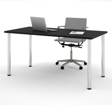 Bestar Furniture BESTAR 6586218 Office Desk Black, Main View