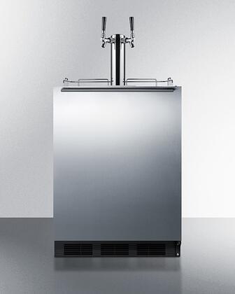 Summit  SBC58BLBIADA Beer Dispenser Stainless Steel, SBC58BLBIADA ADA Compliant Kegerator