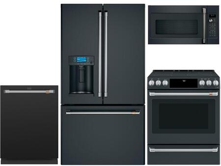 Cafe  969402 Kitchen Appliance Package Black, main image