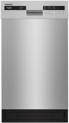 Whirlpool WDF518SAHM Built-In Dishwasher Stainless Steel, Main Image