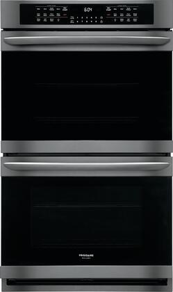 Frigidaire Gallery FGET3066UD Double Wall Oven Black Stainless Steel, FGET3066UD Double Wall Oven