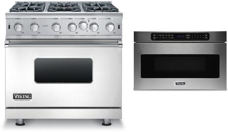 Viking 873817 Kitchen Appliance Package & Bundle Stainless Steel, 1