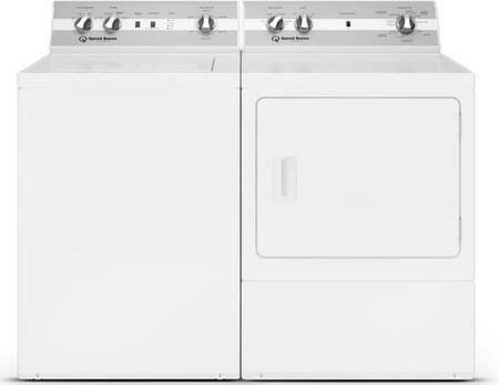 Speed Queen 1054802 Washer & Dryer Set White, 1
